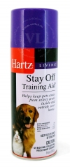 Хартц Средство с отпугивающим запахом для собак и кошек, Hartz Stay Off Training Aid, фл. 397 г