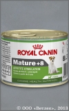 Роял Канин для собак мелких пород старше 8 лет (Royal Canin Mature +8), банка 195 г
