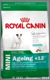 Роял Канин для собак мелких пород старше 12 лет (Royal Canin Mini Ageing +12), уп. 800 г